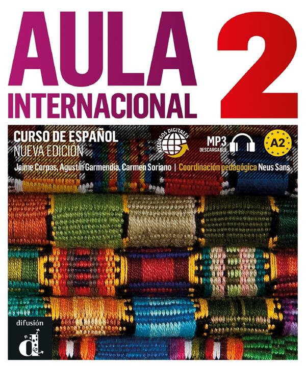 AULA INTERNACIONAL 2 NED - LIVRE ELEVE + CD